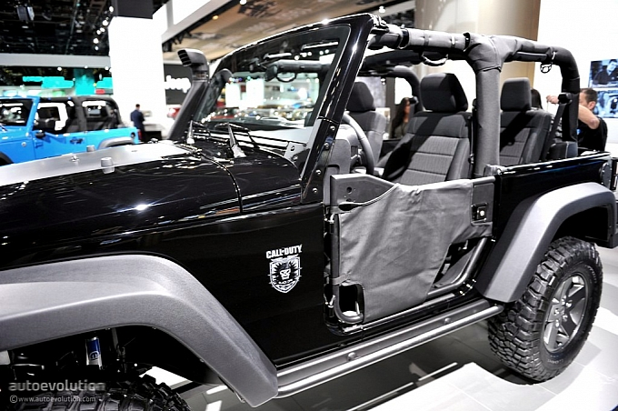 2011 NAIAS: Jeep Wrangler Call