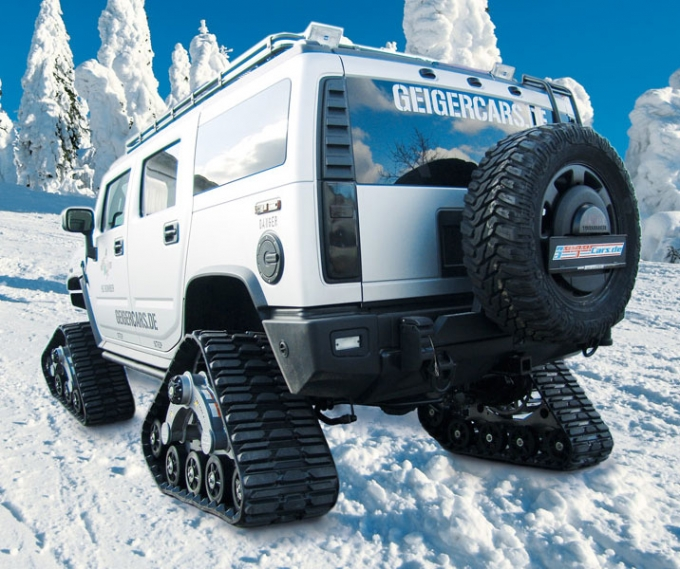 auto tuning geigercars hummer h2 bomber Car Tuning