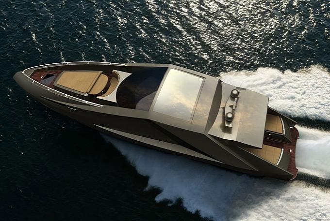 Fenice Milano Lamborghini-inspired Yacht