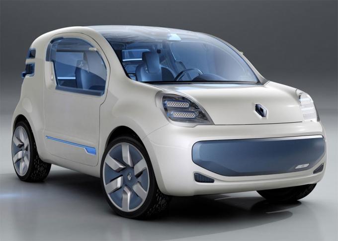 Renault Kangoo ZE Concept Car