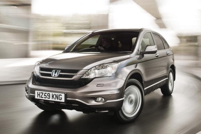 Honda начала продажи модели CR-V с новым мотором.