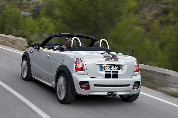 MINI Cooper Roadster Unveiled