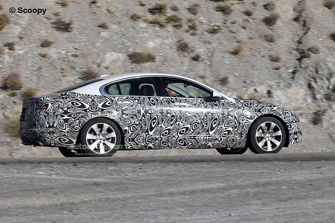 Jaguar Xf 2011 Facelift. Spyshots: 2011 Jaguar XF