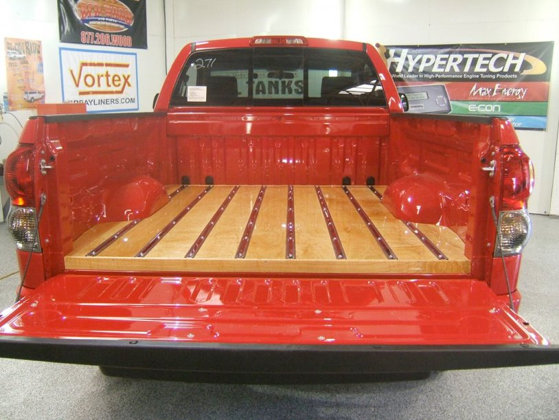 Wooden Truck Bed Plans