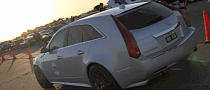 Hennessey Sets Cadillac CTS-V Standing Mile Record