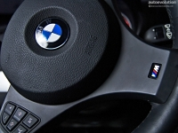[Steering wheel airbag location on a BMW X3]