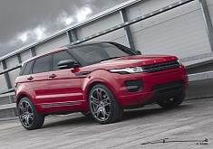 Kahn Red Range Rover Evoque