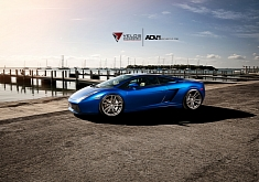 Lamborghini Gallardo on ADV.1 Wheels