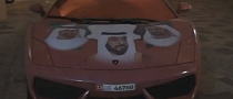 Lamborghini Gallardo Wrapped in Sheikhs