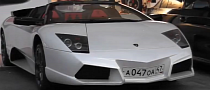 Lamborghini Murcielago Roadster With Reventon Nose