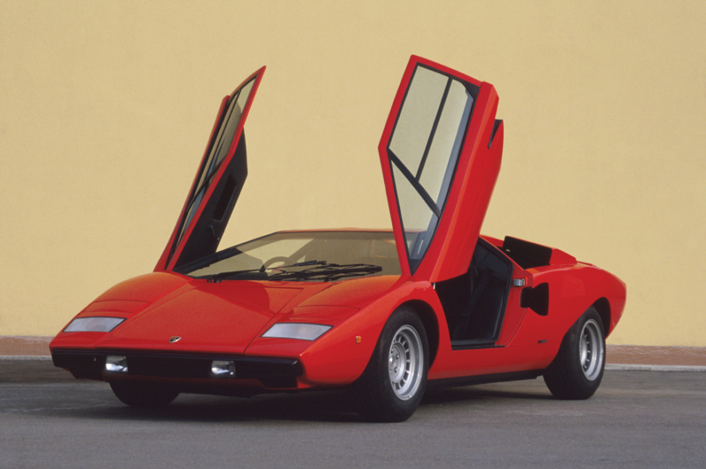 Lamborghini Countach: a wet dream for any '80s teenager