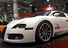 Matte White Bugatti Veyron by Platinum Motorsport
