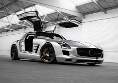 Mercedes SLS AMG Silver Wing by Wheelsandmore