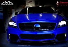 Mercedes CLS Black Bison