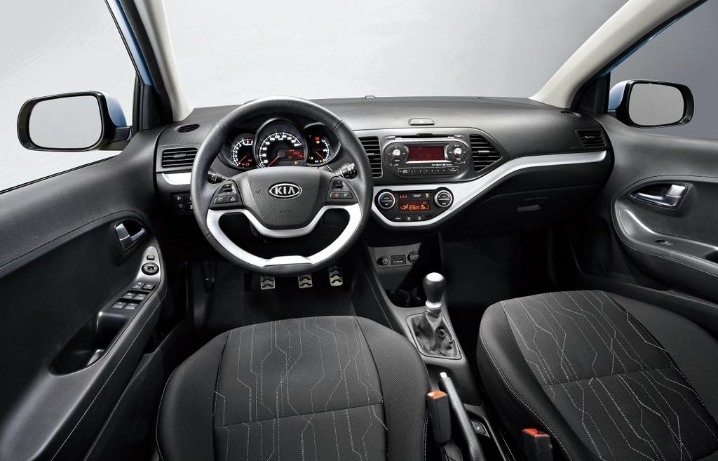 Kia Picanto Interior. New Kia Picanto interior