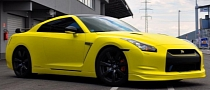 Nissan GT-R Banana Yellow