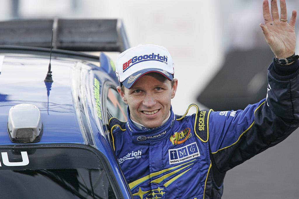 Petter Solberg, doble campeón del mundo de ralis