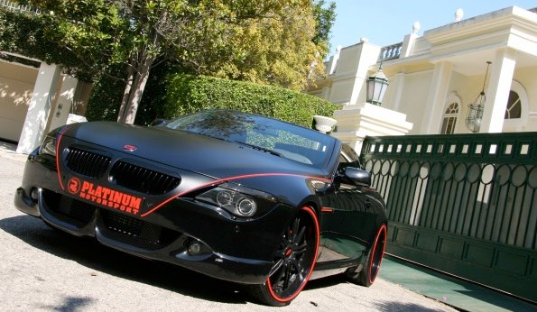 Bmw 650i Black. Platinum Motorsport BMW 650i
