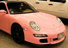 Pink Porsche 911