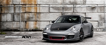 Porsche 911 GT3 RS 997 On ADV.1 Wheels