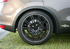 Porsche Cayenne Air Suspension from Vogtland