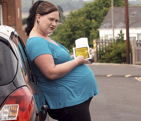 pregnant woman gets parking ticket for not giving birth 7932 1 Hula Halau 'Ohana Holo'oko'a   Adult Tahitian .
