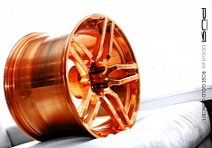 PUR Wheels Rose Gold