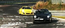 RUF RGT and RUF RT-12S Playing on Nurburgring