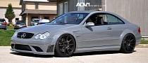 Mercedes CLK63 AMG Black Series on ADV.1 Wheels