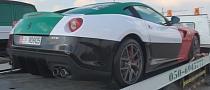Ferrari 599 GTO, Mercedes G55 and Bentley GT