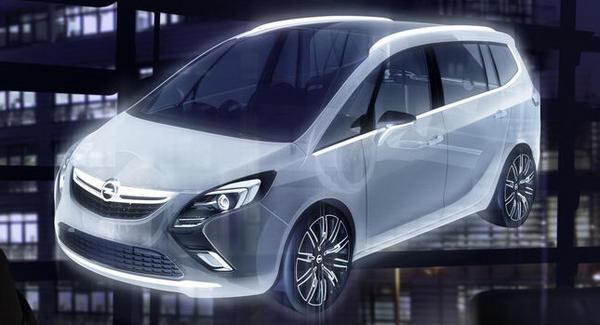 New Opel Zafira 2011. Vauxhall+zafira+2011 New