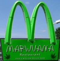 Click to enlarge [Marijuana drive-in, opening soon...]