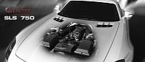 Weistec Mercedes SLS AMG 750