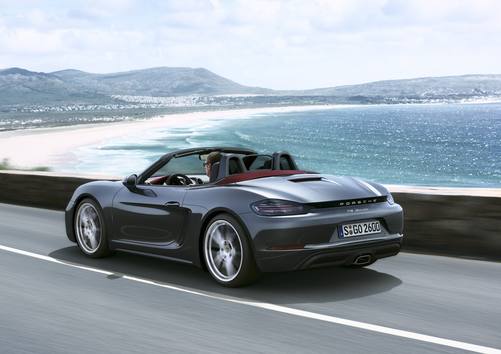 2017 porsche 718 boxster review autoevolution. Black Bedroom Furniture Sets. Home Design Ideas