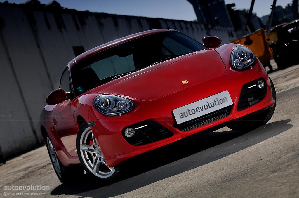 S Model Test Drive Porsche Cayman S 2009
