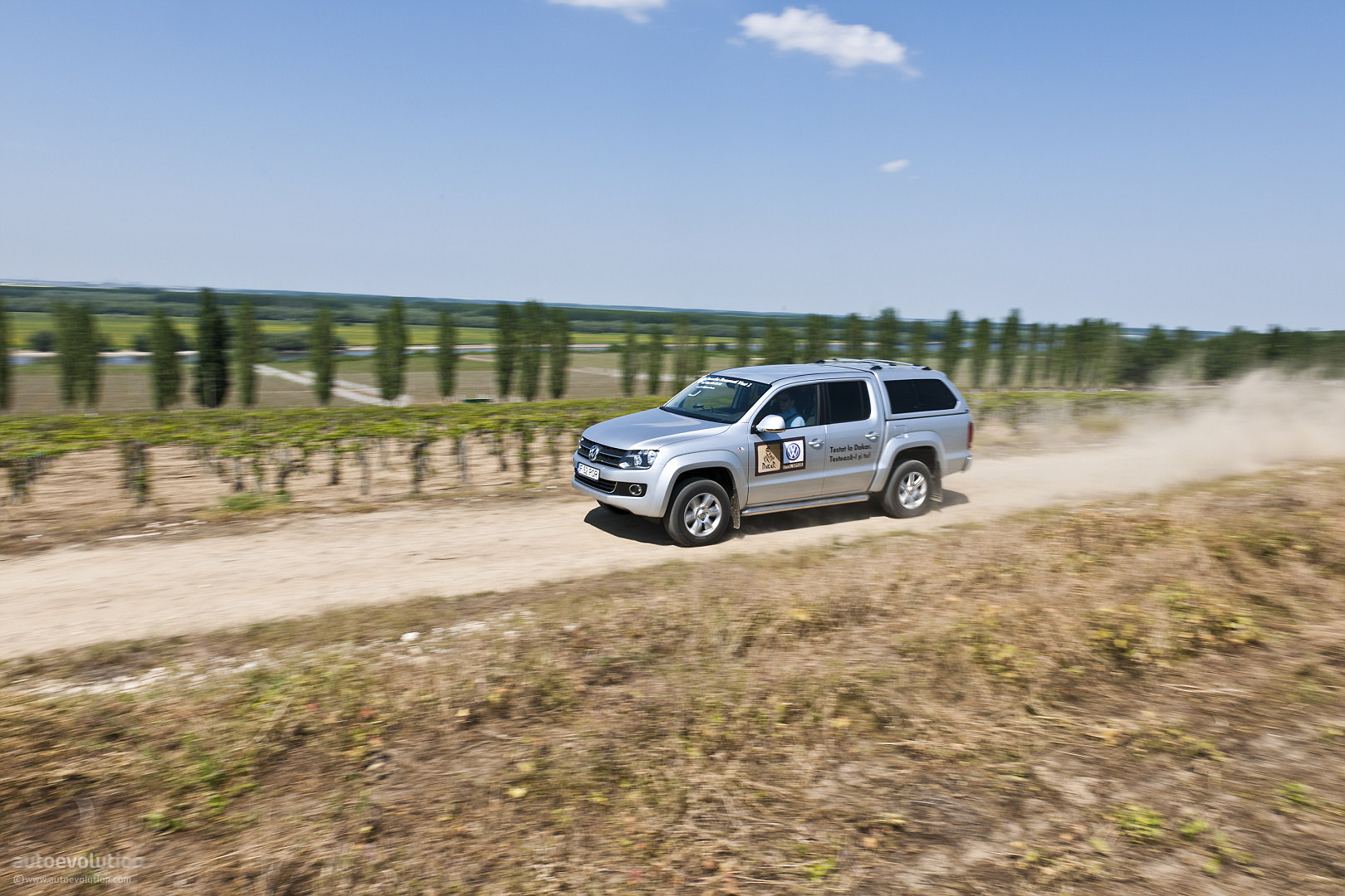 Volkswagen Amarok off road.